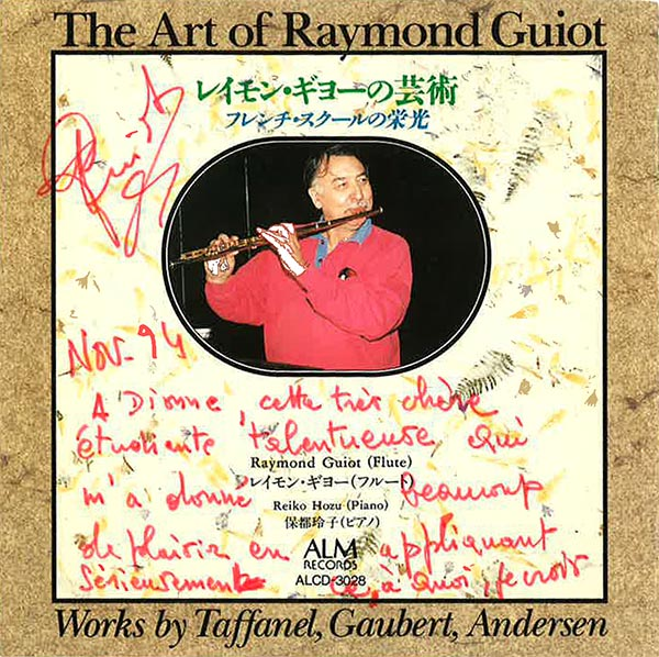 inscribe CD from Guiot to Jackson
